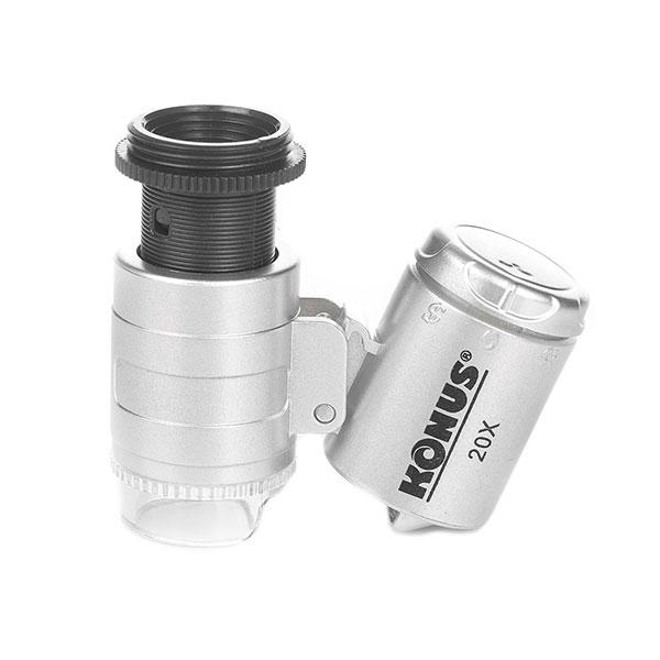 купить Микроскоп KONUS KONUSCLIP-2 20x для смартфона