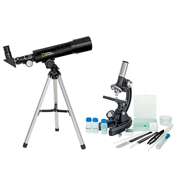 купить Микроскоп NATIONAL GEOGRAPHIC Junior 300x-1200x + Телескоп 50/360