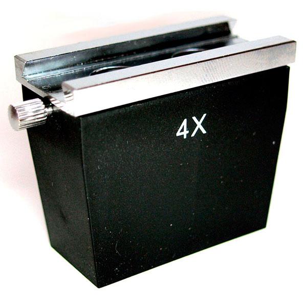 купить Объектив для микроскопа SIGETA 4x к стерео микроскопам