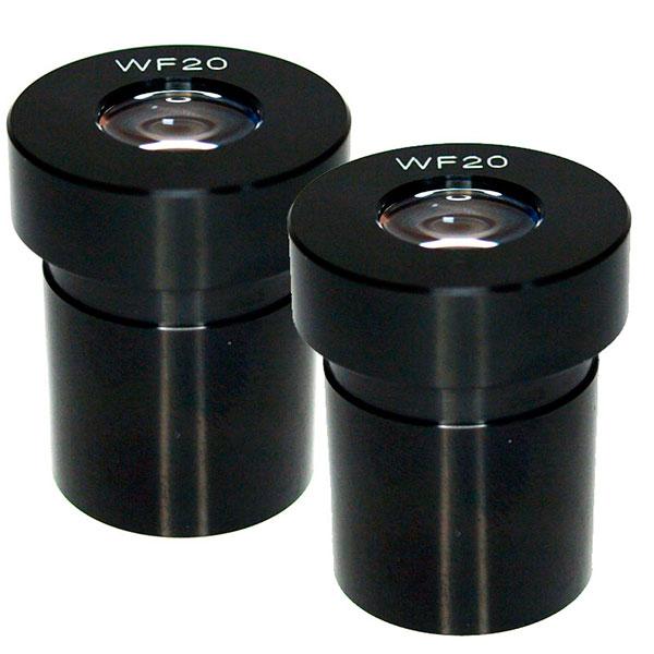 купить Окуляр для микроскопа SIGETA WF 20X (пара)