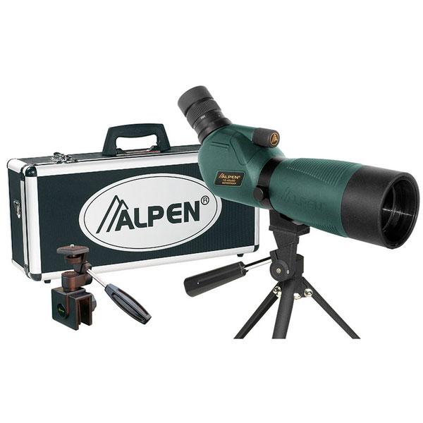 купить Подзорная труба ALPEN 15-45x60/45 N KIT Waterproof