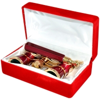 ARSENAL NB26 3x25 красный с ручкой Бинокль с гарантией