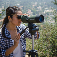 BARSKA Blackhawk 20-60x60 WP (Black/Green) Подзорная труба