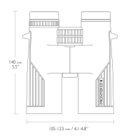 HAWKE Frontier ED 8x42 (Grey) Бинокль по лучшей цене