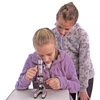 BRESSER Junior 300x-1200x с кейсом Детский микроскоп с гарантией