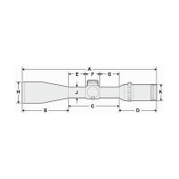 HAKKO Tactical 30 12-60x56 SF (Mil Dot IR R/G) Оптический прицел