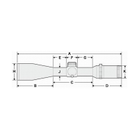HAKKO Tactical 30 6x42 (SKS IR Red) Оптический прицел