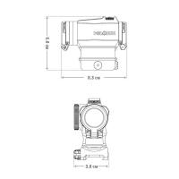HOLOSUN Paralow HS515GM Коллиматорный прицел