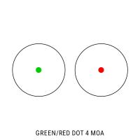 BARSKA Red/Green Dot 1x30 (Weaver/Picatinny) Коллиматорный прицел