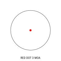 HAWKE Vantage Red Dot 1x25 9-11 mm Коллиматорный прицел с гарантией