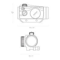 HAWKE Vantage Red Dot 1x25 9-11 mm Коллиматорный прицел по лучшей цене