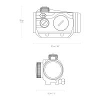 HAWKE Vantage Red Dot 1x30 (9-11mm/Weaver) Коллиматорный прицел по лучшей цене