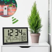 BRESSER MyTime Jumbo LCD (White/Black) Метеостанция