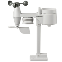 BRESSER Weather Center Wi-Fi 5-in-1 Profi Sensor (White/Black) Метеостанция с гарантией