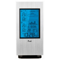 EA2 AL808 Aluminum slim Метеостанция купить в Киеве