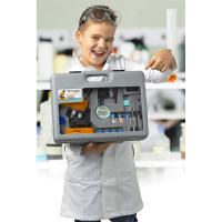 BRESSER Junior 40x-640x Orange (с кейсом) Детский микроскоп