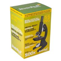 LEVENHUK 5S NG 40x-500x монокулярный Микроскоп