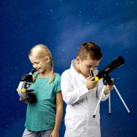 NATIONAL GEOGRAPHIC Junior 40x-640x + Телескоп 50/360 (Base) Детский микроскоп