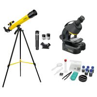 NATIONAL GEOGRAPHIC Junior 40x-640x + Телескоп 50/600 Детский микроскоп