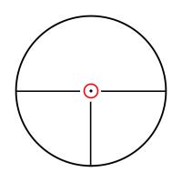 KONUS KONUSPRO M-30 1-6x24 Circle Dot IR Оптический прицел
