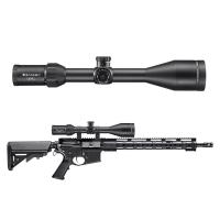BARSKA Level 6-24x56 (IR MOA R/G) + Rings Оптический прицел по лучшей цене