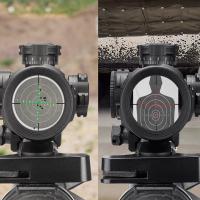 BARSKA SWAT-AR Tactical 1-4x28 (IR Mil-Dot R/G) + mount Оптический прицел купить в Киеве