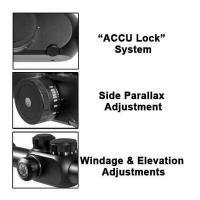 BARSKA Tactical 6.5-20x40 FFP (IR Mil-Dot) + Rings Оптический прицел