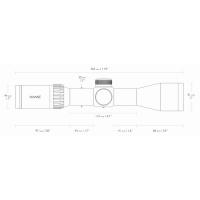 HAWKE Endurance 30 1.5-6x44 (30/30 Centre Cross IR) Оптический прицел по лучшей цене
