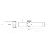 HAWKE Endurance 30 WA 1-4x24 (L4A IR Dot) Оптический прицел