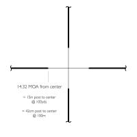 HAWKE Vantage 2-7x32 (30/30) Оптический прицел по лучшей цене