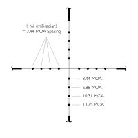 HAWKE Vantage 2-7x32 AO (Mil Dot) Оптический прицел по лучшей цене