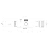 HAWKE Vantage 2-7x32 AO (Mil Dot) Оптический прицел