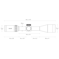 HAWKE Vantage 3-12x44 SF (10x 1/2 Mil Dot) Оптический прицел по лучшей цене