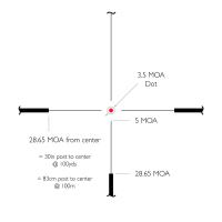 HAWKE Vantage 30 WA 1-4x24 (L4A IR Dot) Оптический прицел по лучшей цене