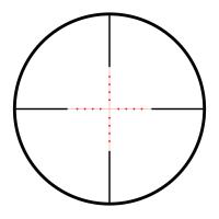 HAWKE Vantage IR 2-7x32 AO (Mil Dot IR R/G) Оптический прицел с гарантией