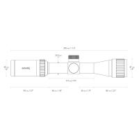 HAWKE Vantage IR 2-7x32 AO (Mil Dot IR R/G) Оптический прицел