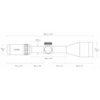 HAWKE Vantage IR 3-12x50 SF (10x 1/2 Mil Dot IR) Оптический прицел по лучшей цене