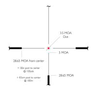 HAWKE Vantage IR 4-12x50 (L4A IR Dot R/G) Оптический прицел по лучшей цене