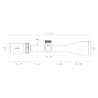 HAWKE Vantage IR 4-12x50 (Mil Dot R/G) Оптический прицел
