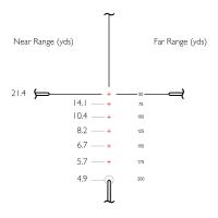 HAWKE Vantage IR 4-12x50 (Rimfire .22 LR Subsonic R/G) Оптический прицел по лучшей цене