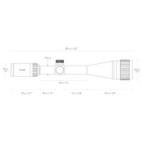 HAWKE Vantage IR 6-24x50 AO (Mil Dot IR R/G) Оптический прицел