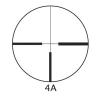 BARSKA Euro-30 1.25-4.5x26 (4A) с кольцами Оптический прицел с гарантией