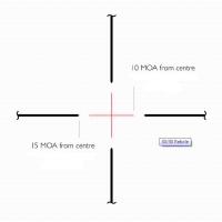 HAWKE Vantage IR 2-7x32 (30/30 Centre Cross IR R/G) Оптический прицел по лучшей цене