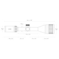 HAWKE Vantage IR 3-9x50 AO (Mil Dot IR R/G) Оптический прицел