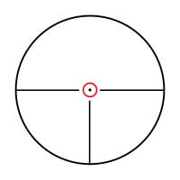 KONUS KONUSPRO M-30 1-4x24 Circle Dot IR Оптический прицел