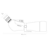HAWKE Endurance ED 25-75x85 WP Подзорная труба с гарантией