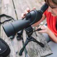 VANGUARD Vesta 560A 15-45x60/45 WP + штатив Подзорная труба по лучшей цене