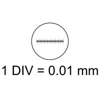 SIGETA Калибровочная линейка X Div.x0.01мм, 0.1мм  с гарантией