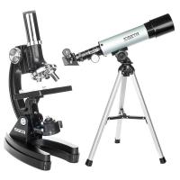 SIGETA Pandora (микроскоп + телескоп) в кейсе Детский микроскоп купить в Киеве