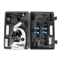 SIGETA PRIZE NOVUM 20x-1280x с камерой 2Mp (в кейсе) Микроскоп